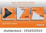social media template with... | Shutterstock .eps vector #1926525515