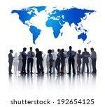 global business | Shutterstock . vector #192654125