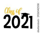 vector class of 2021... | Shutterstock .eps vector #1926542558