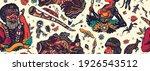 australia pattern. boomerang ... | Shutterstock .eps vector #1926543512