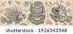 underwater world. scuba diver... | Shutterstock .eps vector #1926543548