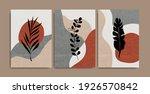 set of creative minimalist hand ... | Shutterstock .eps vector #1926570842