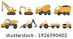 big set of construction... | Shutterstock .eps vector #1926590402