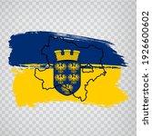 flag of lower austria brush...