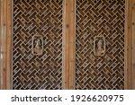 Chinese  Wooden Door With...