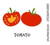 vector illustration of ripe red ...   Shutterstock .eps vector #1926641885