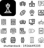 digital collection vector icons ...