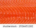 Texture Of Fish Flesh Of...