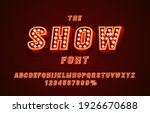 show font set collection ... | Shutterstock .eps vector #1926670688