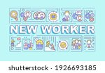 new worker word concepts banner....