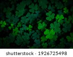 Small Green Clover Leaves...