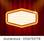 retro 3d advertising with retro ... | Shutterstock .eps vector #1926733778