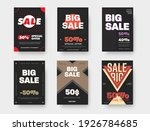 vector posters with circles ... | Shutterstock .eps vector #1926784685