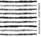 hand drawn doodle stripes... | Shutterstock .eps vector #1926798695
