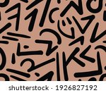 seamless abstract geometric...   Shutterstock .eps vector #1926827192
