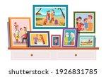 family photos. memories photo... | Shutterstock .eps vector #1926831785