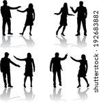 business people | Shutterstock .eps vector #192683882