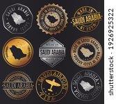 saudi arabia business metal...   Shutterstock .eps vector #1926925322