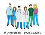 illustration of team of...   Shutterstock .eps vector #1926932258