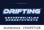 blue modern metallic gaming... | Shutterstock .eps vector #1926957128