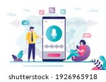 male character asks for help... | Shutterstock .eps vector #1926965918