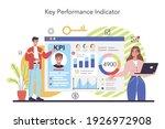 kpi concept. key performance... | Shutterstock .eps vector #1926972908