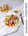 Delicious Vegetable Greek Salad ...