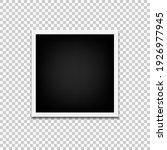 photo frame mock up design... | Shutterstock .eps vector #1926977945