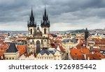 Prague  Bird View From Town...