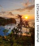 Golden Hour On Tropical Beach...