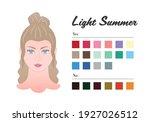 women color types analysis  ... | Shutterstock .eps vector #1927026512