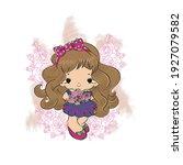 the doll illustration for... | Shutterstock .eps vector #1927079582