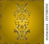 snowflakes pattern. snowflake... | Shutterstock .eps vector #1927080542