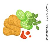 asian food illustration.... | Shutterstock .eps vector #1927100948