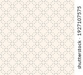 minimalist vector seamless...   Shutterstock .eps vector #1927107575
