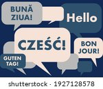 polish language courses concept ...   Shutterstock .eps vector #1927128578