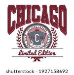 college print for sweatshirt  t ... | Shutterstock .eps vector #1927158692