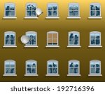 neighborhood noise in an... | Shutterstock .eps vector #192716396