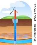 layers of land with underground ... | Shutterstock .eps vector #1927179728