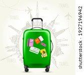 journey round the world  ... | Shutterstock .eps vector #1927196942