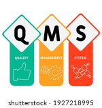 qms   quality management system ... | Shutterstock .eps vector #1927218995