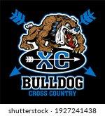 bulldog cross country team... | Shutterstock .eps vector #1927241438