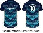 sports jersey t shirt design... | Shutterstock .eps vector #1927290905