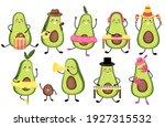 set vector illustration of cute ...   Shutterstock .eps vector #1927315532