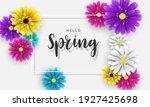 design banner spring background ... | Shutterstock .eps vector #1927425698