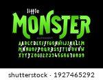 kids cartoon playful style... | Shutterstock .eps vector #1927465292