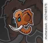 a mammoth logo esport gaming... | Shutterstock .eps vector #1927485575