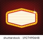 retro 3d advertising with retro ... | Shutterstock .eps vector #1927490648