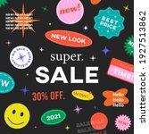 special offer super sale banner ... | Shutterstock .eps vector #1927513862