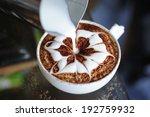 latte art   coffee art made by... | Shutterstock . vector #192759932